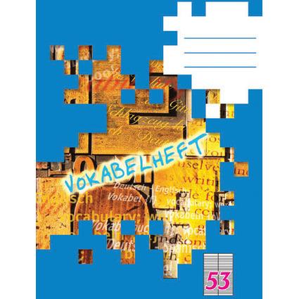 LANDRÉ Vokabelheft DIN A4, 2-spaltig, 32 Blatt, 80 g/qm