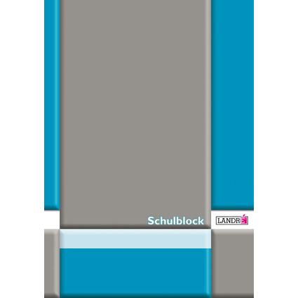 LANDRÉ Schulblock DIN A4, Lineatur 21 / liniert