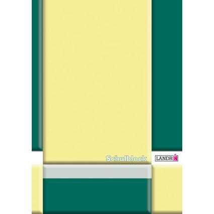 LANDRÉ Schulblock DIN A4, Lineatur 27 / liniert