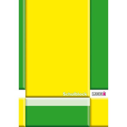LANDRÉ Schulblock DIN A4, Lineatur 29 / rautiert