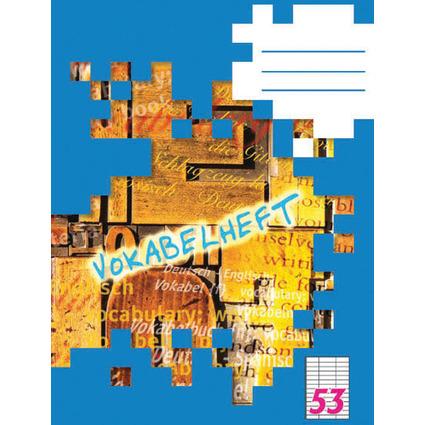 LANDRÉ Vokabelheft DIN A5, 3-spaltig, 80 g/qm, 40 Blatt