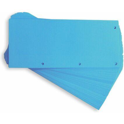 ELBA Trennstreifen Duo, aus Karton, 240 x 105 mm, blau