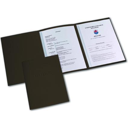 ELBA Bewerbungsmappe Metallic, Karton 320 g/qm, bronze