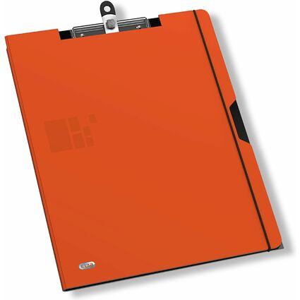 ELBA for Business Schreibmappe, aus PP, orange