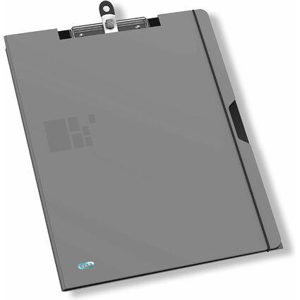 ELBA for Business Schreibmappe, aus PP, grau