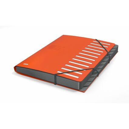 ELBA for Business Ordnungsmappe, DIN A4, Fächer 1-12, orange