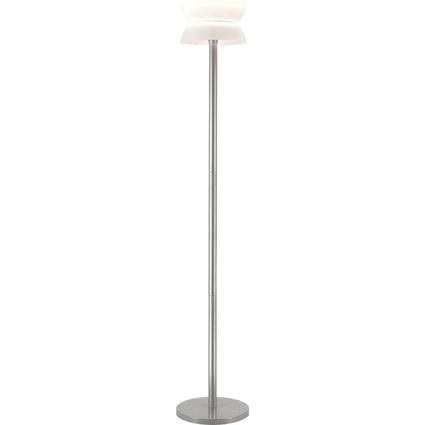 unilux LED Energiespar-Stehleuchte DIABOLED, metallgrau