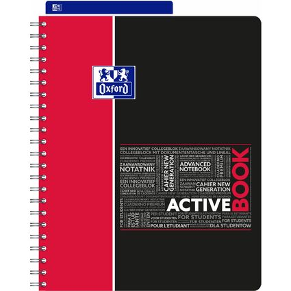 "Oxford Studium Collegeblock ""ACTIVEBOOK"", A4+, liniert"