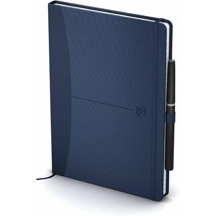 "Oxford Signature Notizbuch ""For Men"", A5, liniert, blau"
