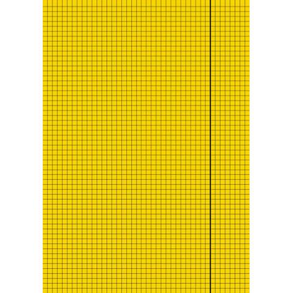 LANDRE Folio-Diarien - Glanzkladden, DIN A4, kariert