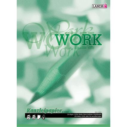 "LANDRÉ Kanzleipapier ""WORK"", DIN A3/DIN A4, blanko"