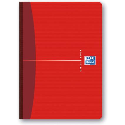 Oxford Office Buch - broschiert, DIN A5, 96 Blatt, kariert