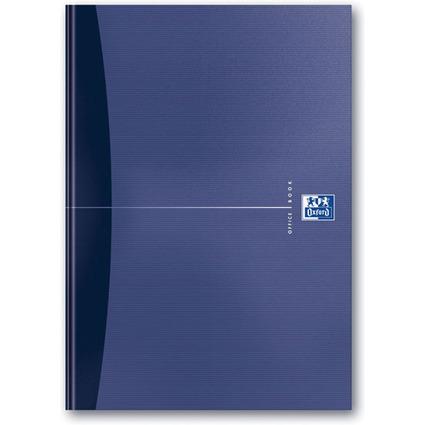 Oxford Office Buch - gebunden, DIN A4, 96 Blatt, kariert
