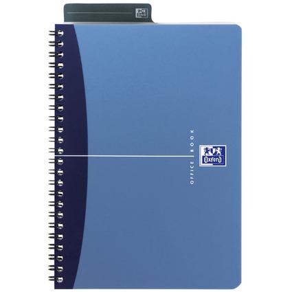 Oxford Office Spiralbuch, DIN A5, liniert, 90 Blatt, PP