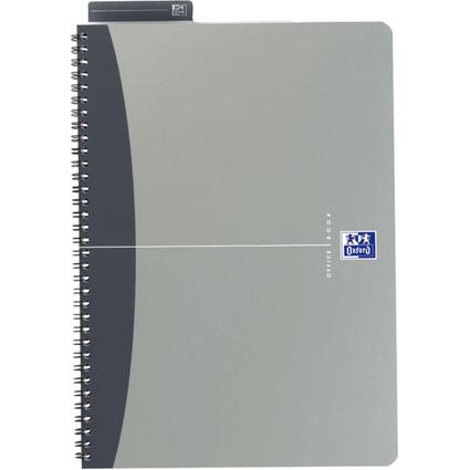 Oxford Office Spiralbuch, DIN A4, liniert, 90 Blatt