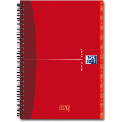 Oxford Office Adressbuch, DIN A5, Sonderlineatur, Karton