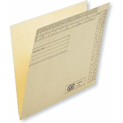 ELBA Einstellmappe mit Organisationsdruck - Kraftkarton