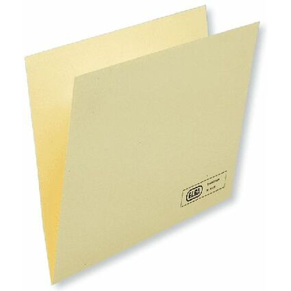ELBA Einstellmappe - Kraftkarton 180 g/qm, chamois