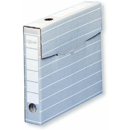 ELBA tric Archiv-Schachtel, Breite 55 mm, für A4, grau/weiß