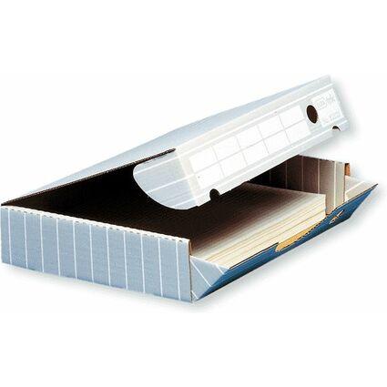 ELBA tric Archiv-Schachtel für A3, grau/weiß
