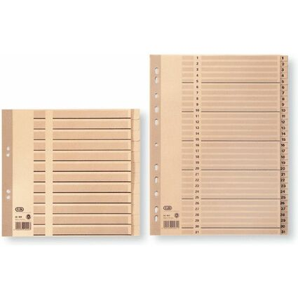 ELBA Tauenpapier-Register, Zahlen 1-31, DIN A4, 31-teilig