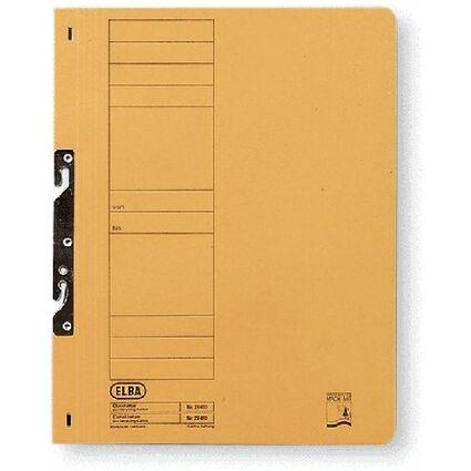 ELBA Einhakhefter aus Karton, grau, kaufmännische Heftung
