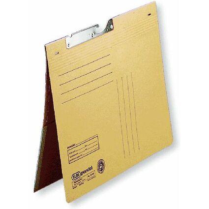 ELBA Pendelhefter, bordierte Tasche, DIN A4, Natronkarton