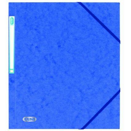 ELBA Eckspannermappe EUROFOLIO, DIN A4, 0,5 mm, royalblau