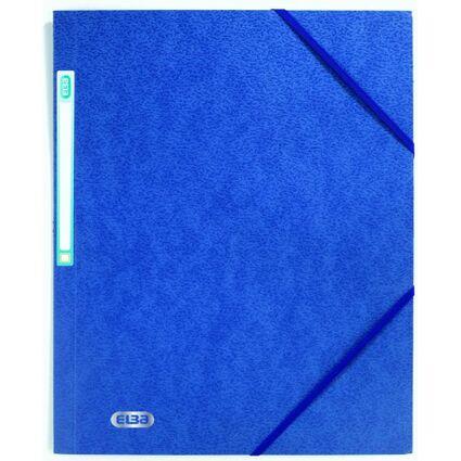 ELBA Eckspannermappe EUROFOLIO, DIN A4, 0,5 mm, dunkelblau