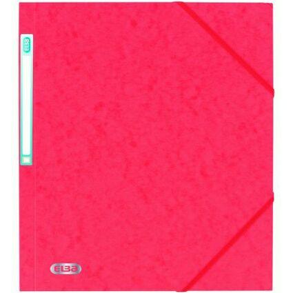 ELBA Eckspannermappe EUROFOLIO, DIN A4, 0,5 mm, rot
