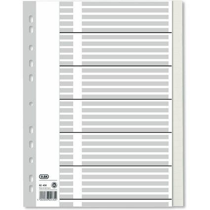 ELBA Tauenpapier-Register, blanko, DIN A4, 31-teilig, volld.
