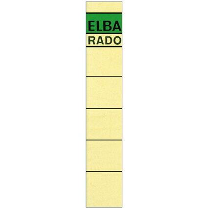 "ELBA Ordnerrücken-Etiketten ""ELBA RADO"" - kurz/schmal"