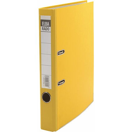 ELBA Ordner rado brillant, Rückenbreite: 50 mm, gelb