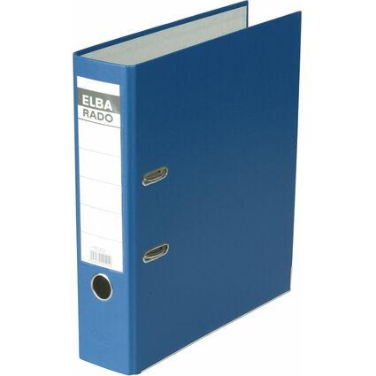 ELBA Ordner rado brillant, Rückenbreite: 80 mm, blau