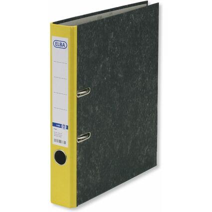 ELBA Ordner smart Original, Rückenbreite: 50 mm, gelb