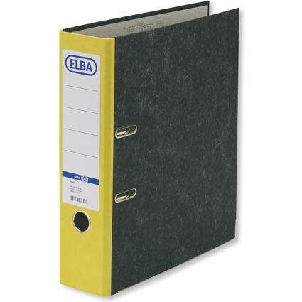 ELBA Ordner smart Original, Rückenbreite: 80 mm, gelb