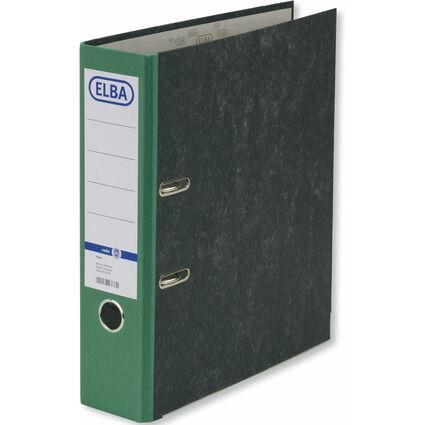 ELBA Ordner smart Original, Rückenbreite: 80 mm, grün