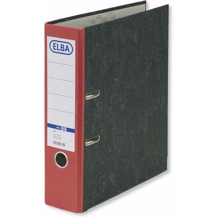 ELBA Ordner smart Original, Rückenbreite: 80 mm, rot