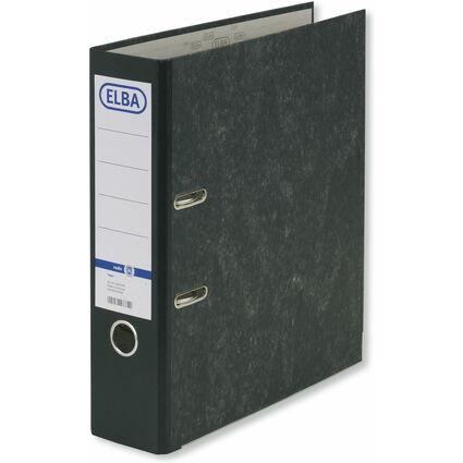 ELBA Ordner smart Original, Rückenbreite: 80 mm, schwarz