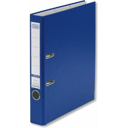 ELBA Ordner smart Pro PP/Papier, Rückenbreite: 50 mm, blau
