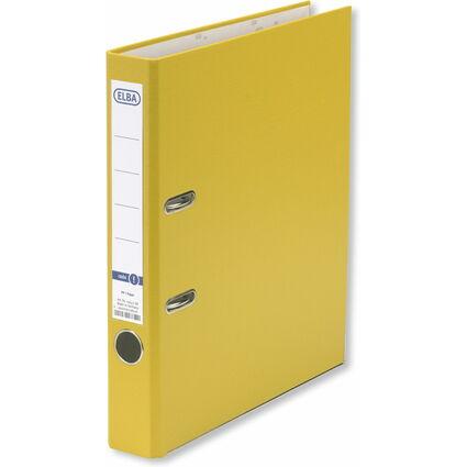 ELBA Ordner smart Pro PP/Papier, Rückenbreite: 50 mm, gelb