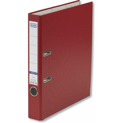 ELBA Ordner smart Pro PP/Papier, Rückenbreite: 50 mm, rot