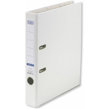 ELBA Ordner smart Pro PP/Papier, Rückenbreite: 50 mm, weiß