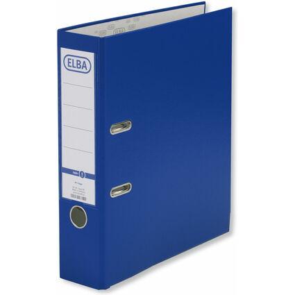 ELBA Ordner smart Pro, Rückenbreite: 80 mm, dunkelblau