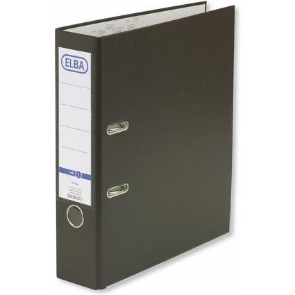 ELBA Ordner smart Pro PP/Papier, Rückenbreite: 80 mm, braun