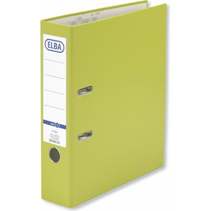 ELBA Ordner smart Pro, Rückenbreite: 80 mm, hellgrün