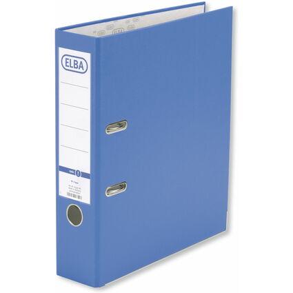 ELBA Ordner smart Pro, Rückenbreite: 80 mm, hellblau