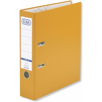 ELBA Ordner smart PP/Papier, Rückenbreite: 80 mm, orange