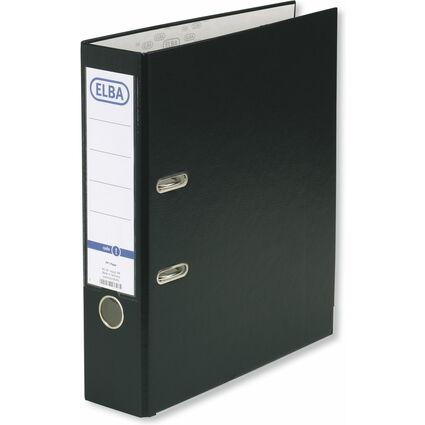 ELBA Ordner smart PP/Papier, Rückenbreite: 80 mm, schwarz
