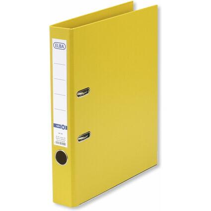 ELBA Ordner rado smart Pro+, Rückenbreite: 50 mm, gelb